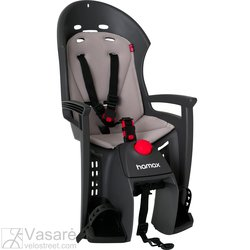 Baby-seat rear Hamax HX PLUS grey/light grey