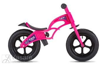 Children balance/running bike Drag Kick pink