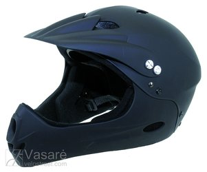 Helmet FREERIDE/DOWNHILL, size M (54-58cm), matt black