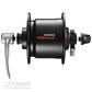 Hub Dynamo 132/36 Black DH-C3000-2N-QR 6V/2.4W QR