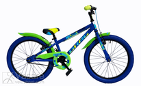 Velosipēds 20 Drag RUSH blue/green