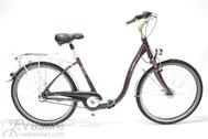 "Velosipēds  26""Da-Al-CTY R44 3NX U PAGOBA2 ALU COMFORT purple jam"