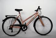 """Velosipēds  26""""Da-St-ATB R50 T21 U TRAPEZ Copper-metallic"""