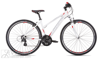 Velosipēds Drag Grand Canyon Comp Lady white red