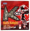 Chain KMC Kool Knight for single speed/ BMX freestyle 1/2x1/8 112links, 18-21sp.
