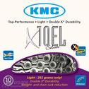 Chain KMC X10 EL Silver