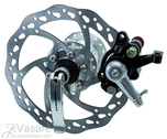 Disc-brake, mechanic, for rear, disc,hub