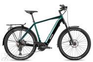 Elektriskais velosipēds Breezer POWERWOLF EVO 1.1+ SM 47cm Dark Green / Black