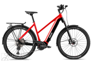 Elektriskais velosipēds Breezer POWERWOLF EVO 1.1+ SM ST 47cm Vinyl Red / Black