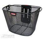 F.-Wheel Basket Klickfix black close-meshed, w/o Adapter, 16 Liter