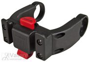 Handlebar adapter E Klickfix black, komb.w. E-Bike Displays