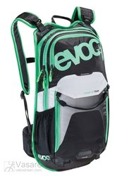 Backpack EVOC Stage 12l TEAM // black-white-green