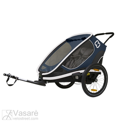 Velosipēds trailer for children Hamax Outback Navy