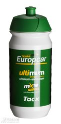 Bottle TACX  Shiva Pro Teams Europcar 500 ml