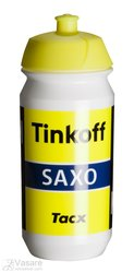 Bottle TACX  Shiva Pro Teams Tinkoff-Saxo 500 ml