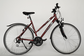 "Velosipēds  28""Da-Al-TRK R50 C24 F TRAP-CL MOCCASIN PLUS garnet-red"