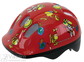 Kids Helmet Frogs red