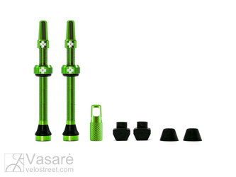 Muc-Off Tubeless Valve Kit 60mm Green