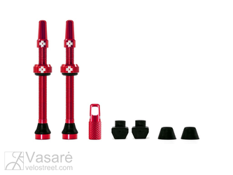 Muc-Off Tubeless Valve Kit 60mm Red