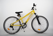 "Velosipēds  26""He-Al-DRT R36 T07 F DIRT-E True yellow"