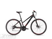 Velosipēds Drag Grand Canyon Lady Pro black-red