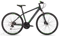 Velosipēds Drag Grand Canyon TE black-green