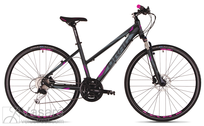 Velosipēds Drag Grand Canyon TE Lady black-purple