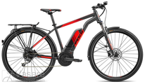 e-Velosipēds Fuji Ambient 29 1.5 EQP Satin Black/ Red