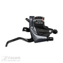 Gear brake shifter Shimano Alivio ST-M4000 Black 9sp.