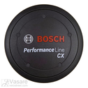 Kit logo cover Performance Line CX, black incl. spacer ring, if design cover is not fitted