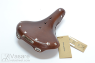 Saddle Gyes G-21 L Brown w/o clamp w/o spring