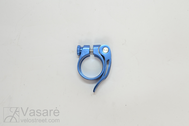 Seat Clamp JD-SC10 Blue Anod. Al QR 31,8