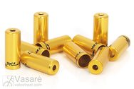 XLC brake hose end cover BR-X10 Gold within Ø 5,0 mm 10pcs.