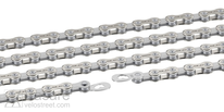 XLC chain CC-C04 1/2 x 11/128, 114 links 11-g. silver